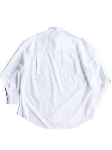 【Graphpaper men's】BROAD REGULAR COLLAR OVERSIZED SHIRT (WHITE)_3