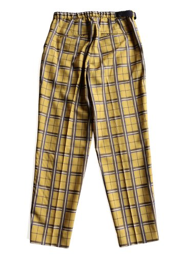 【WELLDER】BELTED TROUSERS (MUSTARD)_2