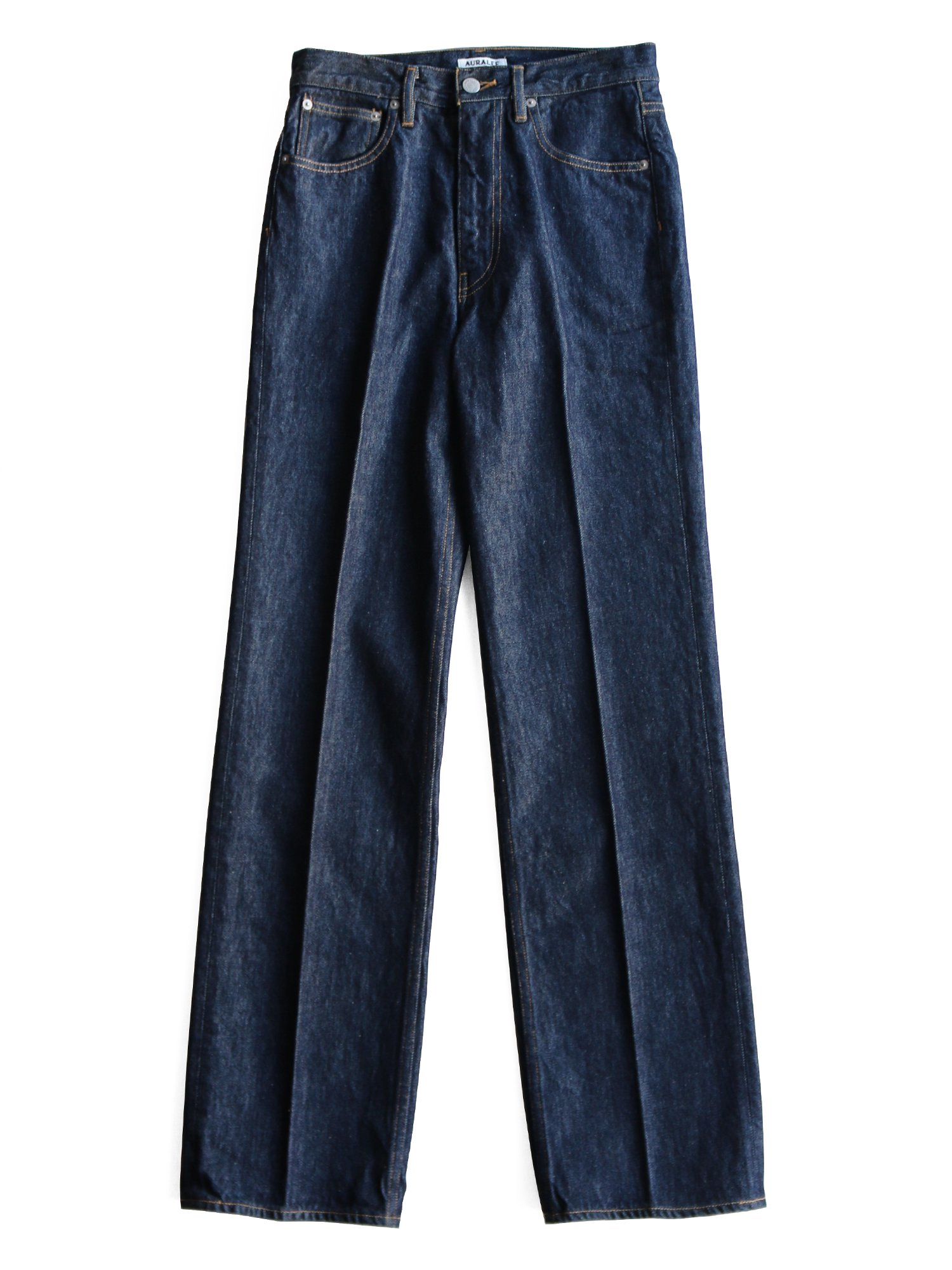 -19AW- 【AURALEE women's】HARD TWIST DENIM 5P PANTS (INDIGO)_main