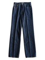 【AURALEE women's】HARD TWIST DENIM 5P PANTS (INDIGO)