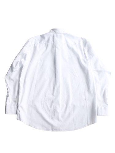 【Graphpaper men's】BROAD REGULAR COLLAR SHIRT (WHITE)_3