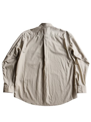【Graphpaper men's】BROAD REGULAR COLLAR SHIRT (BEIGE)_3