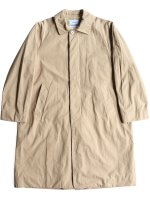 【YAECA men's】SOUTIEN COLLAR COAT STANDARD (KHAKI)