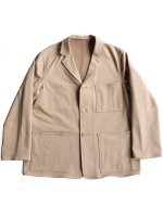 【Graphpaper men】FRENCH WORK SWEAT JACKET (BEIGE)
