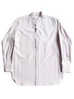 【AURALEE women's】WASHED FINX TWILL SHIRTS (LIGHT PURPLE)