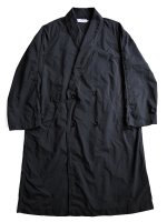 【Graphpaper】GARMENT DYED SHOP COAT (BLACK)
