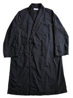 【Graphpaper men's】GARMENT DYED SHOP COAT (BLACK)