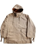 【Graphpaper】DOUBLE FACE TWILL ANORAK (BROWN)