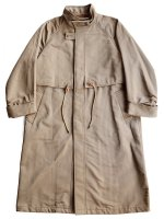 【Graphpaper men's】DOUBLE FACE TWILL STAND COLLAR COAT (BROWN)