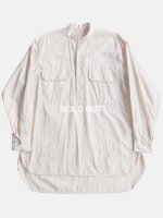 【COMOLI】プルオーバーカーゴシャツ (SAND PINK)