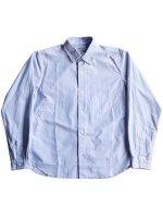 【YAECA men's】COMFORT SHIRT RELAX (BLUE-ST)