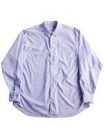 【COMOLI】ポプリンシャツ (STRIPE)