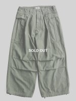 【HERILL】DUCK CARGO PANTS (OLIVE DRAB)