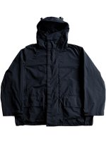【Graphpaper】GARMENT DYED FOUL WEATHER JACKET (BLACK)