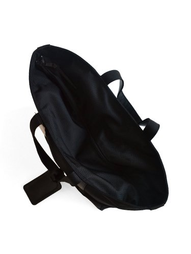 【ARTS&CRAFTS】BLACK NYLON / BASIC ZIP TOP TOTE (BLACK)_3