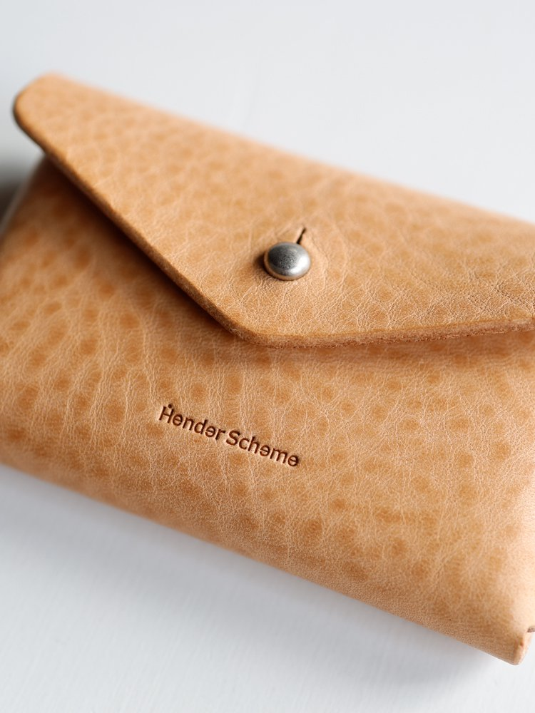 【Hender Scheme】ONE PIECE CARD CASE (NATURAL)_2