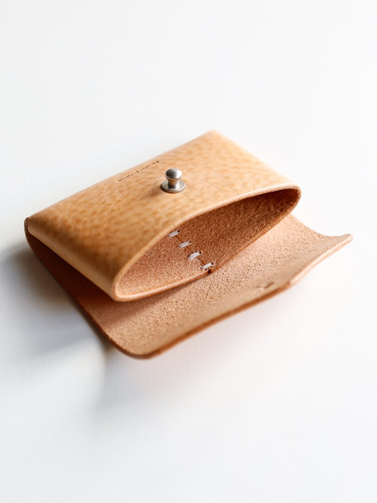 【Hender Scheme】ONE PIECE CARD CASE (NATURAL)_3