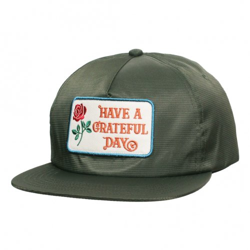 GOWEST ( ゴーウエスト ) キャップ GRATEFUL DAY RIPSTOP CAP ( OLIVE ) GWG4003HGD