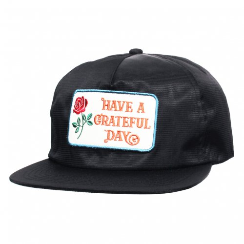 GOWEST ( ゴーウエスト ) キャップ GRATEFUL DAY RIPSTOP CAP ( BLACK ) GWG4003HGD