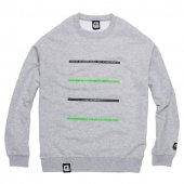 ENiGMa (エニグマ) KNOWLEDGE CREW NECK (GREY)