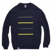 ENiGMa (エニグマ) KNOWLEDGE CREW NECK (NAVY)