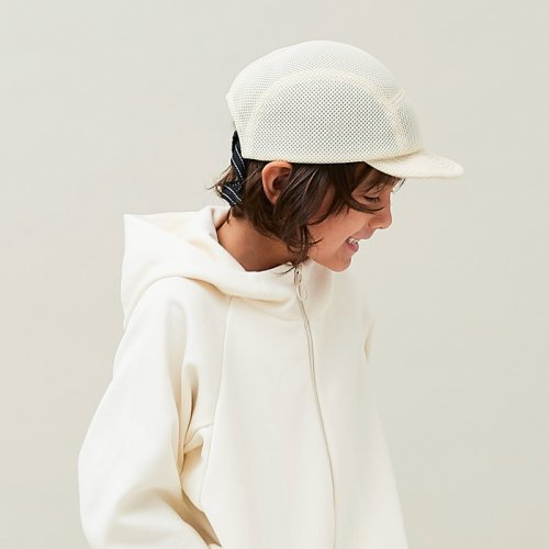 THE PARK SHOP (ザ パークショップ) KIDS CYCLEBOY CAP (OLIVE)