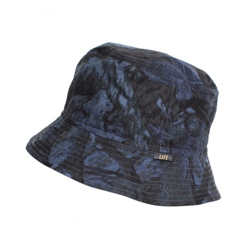 "L.I.F.E ( ライフ ) バケットハット BUCKET HAT ""LIH"" ( BLUE CAMO )"