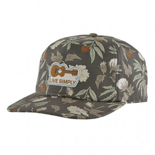 【20%OFF】PATAGONIA (パタゴニア) P6 TRUCKER HAT (FORGE GREY) 38017
