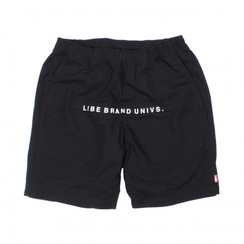 LIBE ( ライブ ) × REMILLA WASHED ZIP SHORTS (BLACK) 16S21