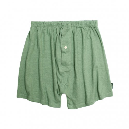 GOHEMP ( ゴーヘンプ ) トランクス BASIC MEN'S SUNNY UNDER SHORTS ( KALE GREEN ) GHC9532RG