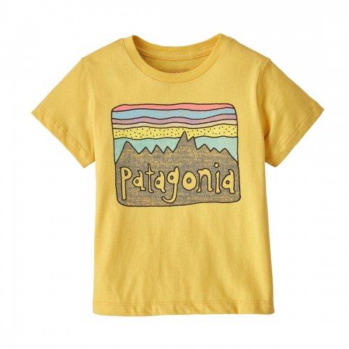 PATAGONIA ( パタゴニア ) キッズTシャツ BABY FITZ ROY SKIES ORGANIC T-SHIRT ( SUYE ) 60419