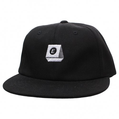 ENiGMa (エニグマ) TYPEWRITER LOGO 6 PANEL CAP (BLACK)