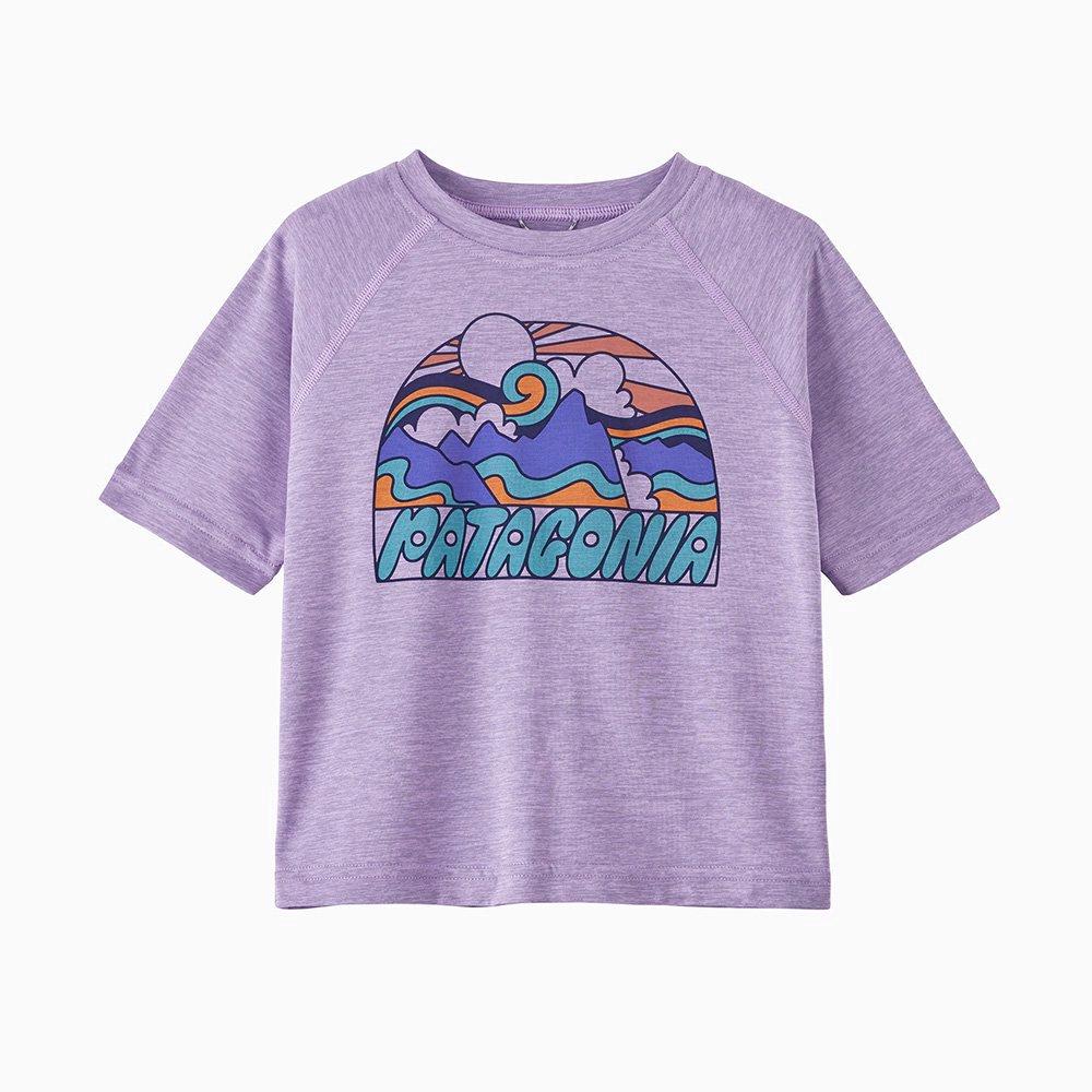 PATAGONIA ( パタゴニア ) キッズTシャツ BABY FITZ ROY SKIES ORGANIC T-SHIRT ( MBPI ) 60419