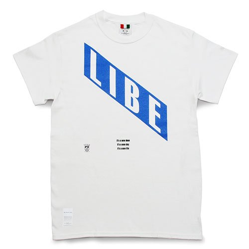 LIBE ( ライブ ) LIBE BLUE TEE 18S07
