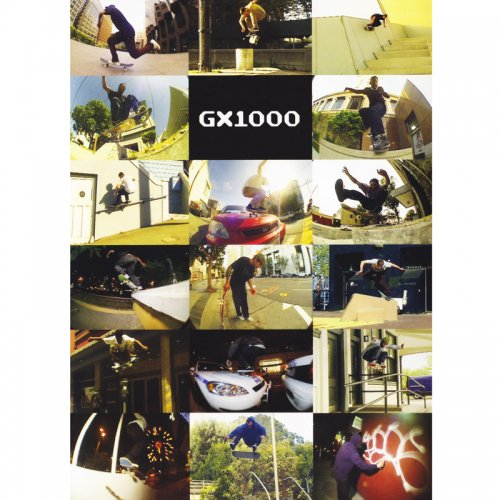 THRASHER MAGAZINE × GX1000 LIMITED EDITION (SKATEBOARD DVD)