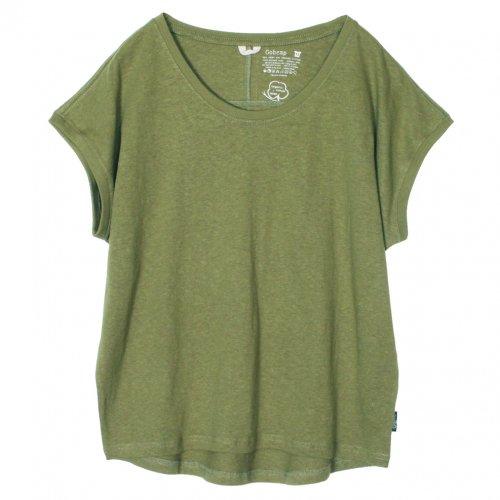 GOHEMP ( ゴーヘンプ ) サニーラウンドTシャツ BASIC LADY'S SUNNY ROUND TEE ( LIME GREEN ) GHC4252RG