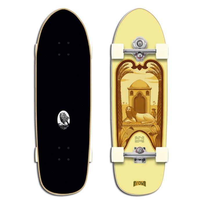 """YOW SURF SKATE ( ヤウサーフスケート ) Kontiki 34"""" コンチキ"""