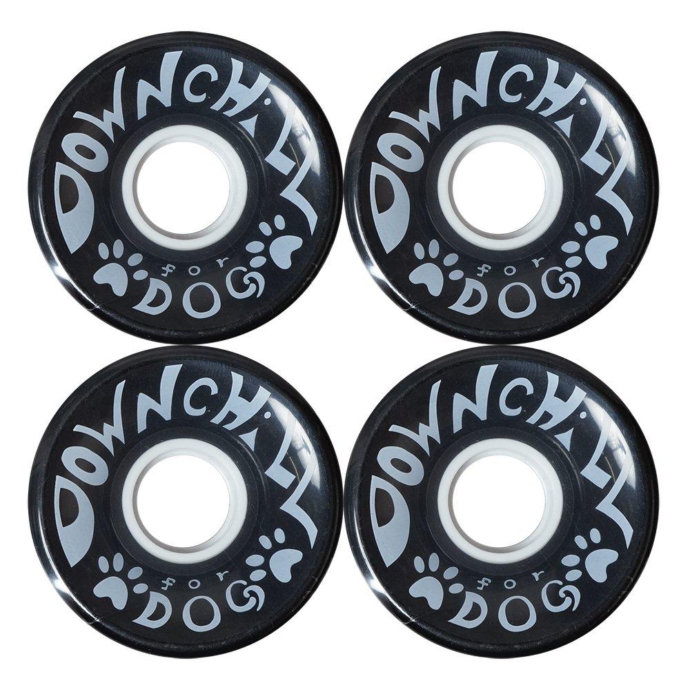 NISEKO DOWNCHILL ( ニセコダウンチル ) ソフトウィール DOWN CHILL FOR DOG 66mm 76a ( BLACK )