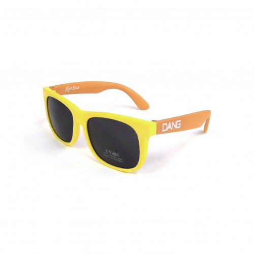DANG SHADES (ダンシェイディーズ) KID'S RAD DAD (YELLOW/ORANGE × BLACK)