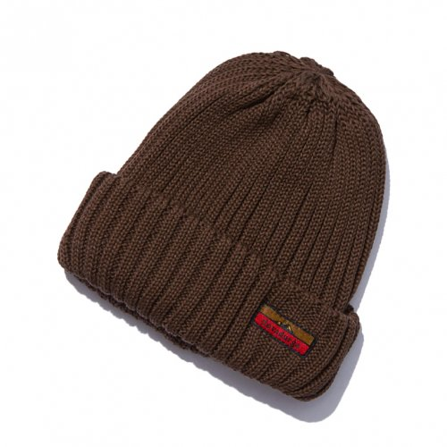 DEVADURGA (デヴァドゥルガ) BATCH KNIT CAP (BROWN) dg-657
