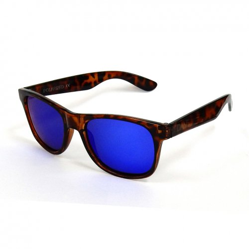 DANG SHADES (ダンシェイディーズ) LOCO (LIGHT TORTOISE × BLUE MIRROR POLARIZED)