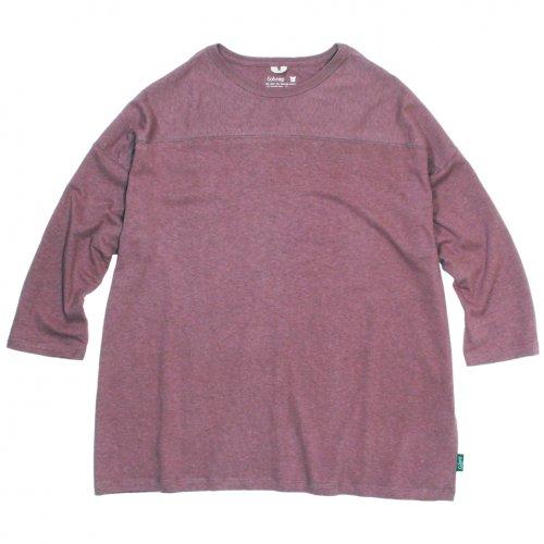 GOHEMP ( ゴーヘンプ ) ワイドフットボールTシャツ BASIC LADY'S WIDE FOOTBALL TEE ( ACAI PALM ) GHC4298RG