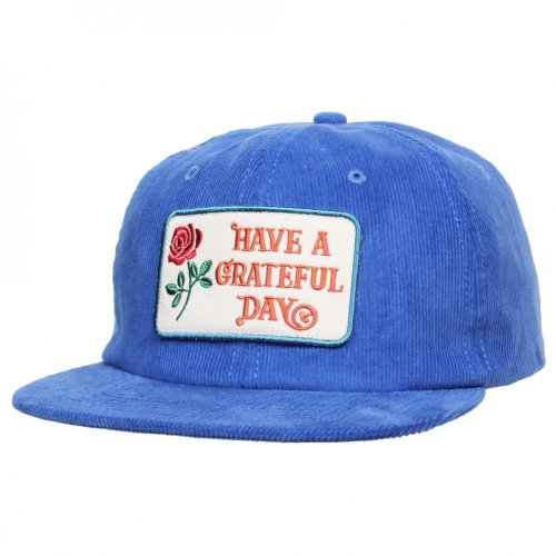 GOWEST ( ゴーウエスト ) キャップ GRATEFUL DAY CORDUROY CAP ( ROYAL ) GWG4002HGD