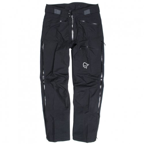 NORRONA ( ノローナ ) TROLLVEGGEN GORE-TEX LIGHT PRO PANTS ( CAVIAR )