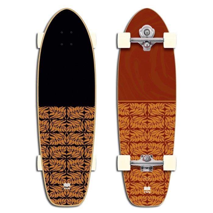 YOW SURF SKATE ( ヤウサーフスケート ) Teahuppo 34