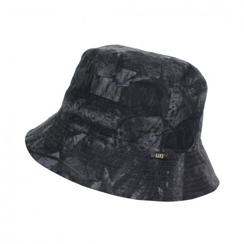 "L.I.F.E ( ライフ ) バケットハット BUCKET HAT ""LIH"" ( BLACK CAMO )"