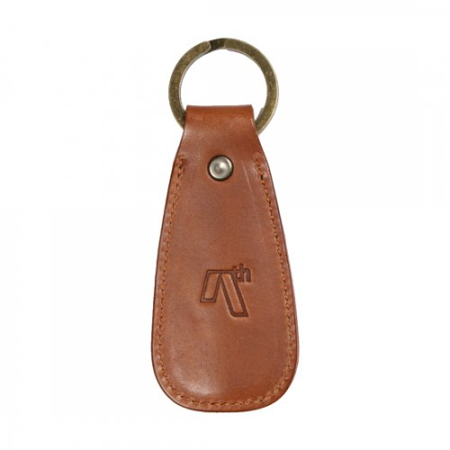 AREth (アース) LEATHER SHOE HONE KEYRING (BROWN)
