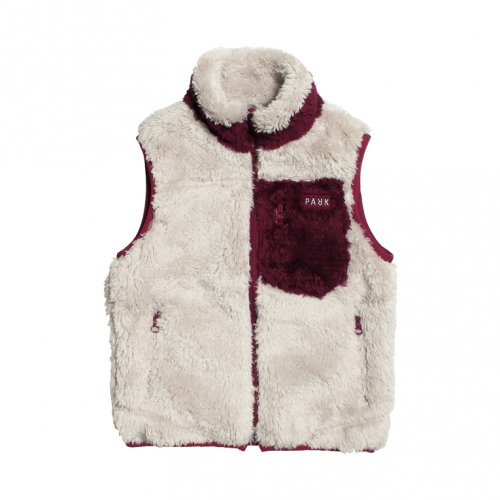 THE PARK SHOP ( ザ パークショップ ) KIDS PAPAGONIA VEST (WINE)