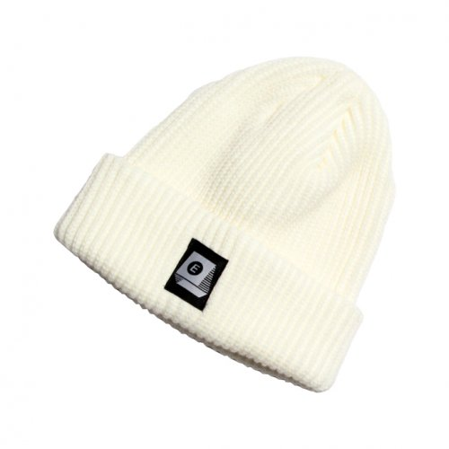 ENiGMa (エニグマ) LOGO KNIT CAP (WHITE