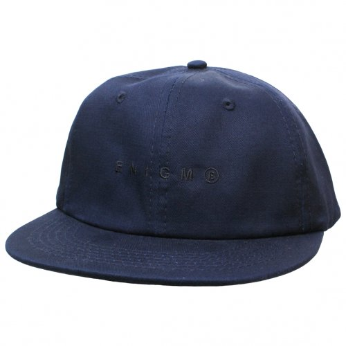 ENiGMa (エニグマ) STRAIGHT CAP (NAVY)